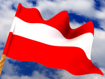 Flag. Austria Royalty Free Stock Images