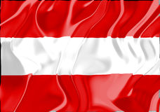 Flag of Austria Royalty Free Stock Image