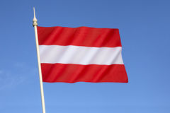 Flag of Austria Royalty Free Stock Photos
