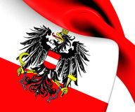 Flag of Austria Royalty Free Stock Photography