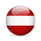 Flag of Austria. Vector illustration. Stock Image