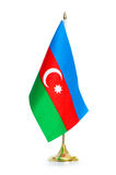 Flag of Azerbaijan isolated Royalty Free Stock Photography