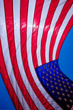 The flag. Backlight flag united states of america Stock Photos