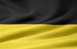 Flag of Baden Wuerttemberg Stock Photo