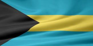 Flag of Bahamas Stock Image