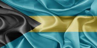 Flag bahamas Stock Photo