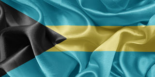 Flag bahamas Royalty Free Stock Photography