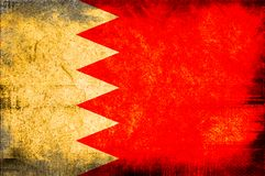 Flag of bahrain Royalty Free Stock Photography