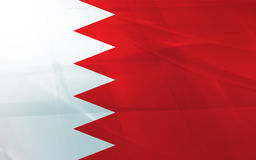 Flag of bahrain Stock Images