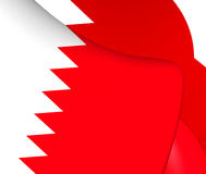Flag of Bahrain Royalty Free Stock Image