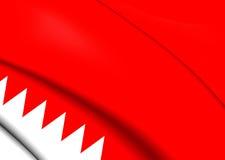 Flag of Bahrain Royalty Free Stock Photos