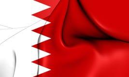 Flag of Bahrain. Royalty Free Stock Image