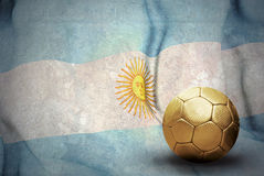 Flag and ball Stock Photos
