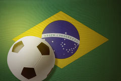 Flag and ball Royalty Free Stock Photography