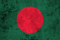 Flag of the Bangladesh close up Royalty Free Stock Image