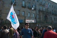 Flag an banner Stock Photos