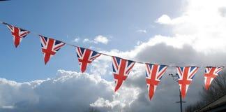 Flag banner stock image