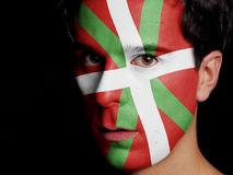 Flag of Basque Country Stock Photo