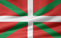 Flag of the basque country - Spain Royalty Free Stock Photo