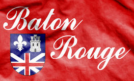 Flag of Baton Rouge, USA. Royalty Free Stock Photography