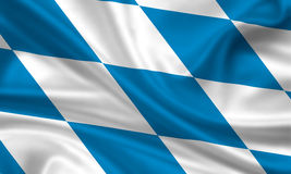 Flag of bavaria Stock Photo