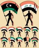 Flag Bearer 4 royalty free illustration