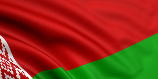 Flag Of Belarus Stock Image