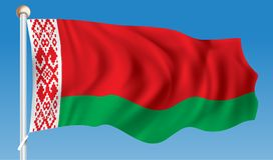 Flag of Belarus. Vector illustration Stock Images