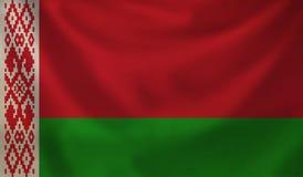 Flag of Belarus. Vintage background with flag of Belarus. Grunge style Royalty Free Stock Photo