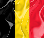 Flag of Belgium Royalty Free Stock Photo