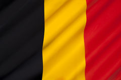 Flag of Belgium Stock Image