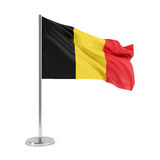 Flag of Belgium Stock Photos