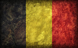 Flag of Belgium Stock Photo