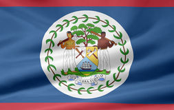 Flag of Belize Royalty Free Stock Images