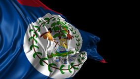 Flag of Belize Stock Photos