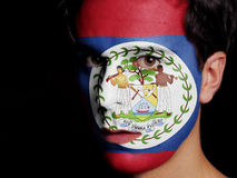 Flag of Belize Royalty Free Stock Image