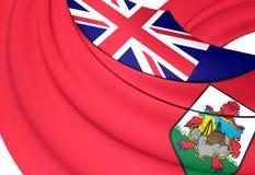 Flag of the Bermuda Stock Image