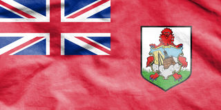 Flag of Bermuda. Royalty Free Stock Photography