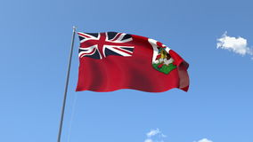 Flag of Bermuda royalty free illustration
