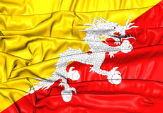 Flag of Bhutan Royalty Free Stock Image