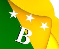 Flag of Bocas del Toro, Panama. Royalty Free Stock Photos