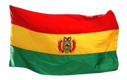 Flag of Bolivia - isolated Royalty Free Stock Photos