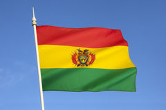 Flag of Bolivia - South America Stock Photos