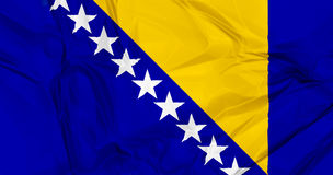Flag of Bosnia Royalty Free Stock Image