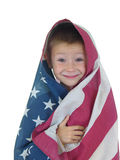 Flag Boy Four Royalty Free Stock Images