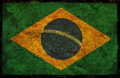 Flag of Brazil Royalty Free Stock Photo