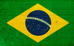 Flag of Brazil Stock Photography