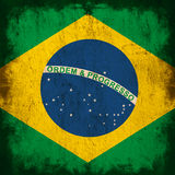 Flag of brazil Royalty Free Stock Photo