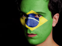 Flag of Brazil Royalty Free Stock Photos