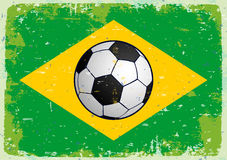 Flag of Brazil. Vector Stock Photography